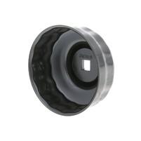 Klíč na olejové filtry Buzzetti 74-76mm, 15 hran