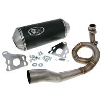Výfuk Turbo Kit GMax 4T s homologací pro Vespa GTS, LX, LXV 125, 150 4T