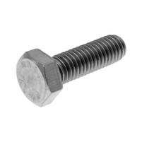 Šroub M8x25 šestihranný DIN933 nerezová ocel A2 (25 kusů)