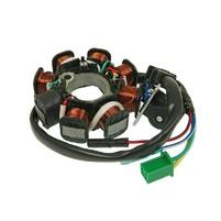 Stator zapalování 8 cívek pro GY6 125/150ccm