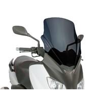Plexi Puig V-Tech Touring černé pro Yamaha X-Max 125 YP125R 10-14