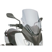 Plexi Puig V-Tech Touring kouřové pro Yamaha X-Max 125 YP125R 10-14