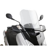 Plexi Puig V-Tech Sport čiré pro Yamaha X-Max 125 YP125R 06-09