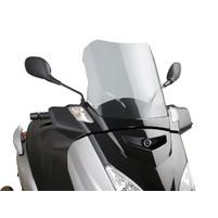 Plexi Puig V-Tech Sport kouřové pro Yamaha X-Max 125 YP125R 06-09