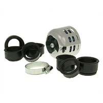 Vzduchový filtr průměr 28-44mm chrom