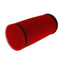 Vzduchový filtr racing dlouhý,průměr 28-35mm červený