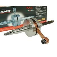 Klikový hřídel Malossi MHR RHQ 80mm conn-rod 10mm piston pin pro Minarelli