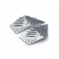Podlaha Opticparts DF checkered aluminium pro Aprilia SR50 (97-05)