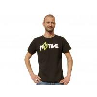 Tričko N8TIVE černé, velikost XL