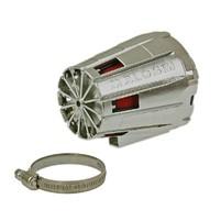 Vzduchový filtr Malossi racing boxed 38mm červený chrom