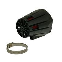 Vzduchový filtr Malossi racing boxed 38mm červeno černý