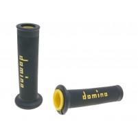 Rukojeti otavřené Domino Fine Grip Enden černo žluté
