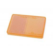 Odrazka samolepící 57x39 oranžová