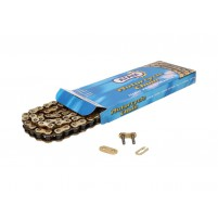 Řetěz AFAM zesílený zlatý - 420 R1-G x 106