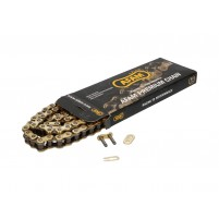 Řetěz AFAM zesílený zlatý - 428 R1-G x 116