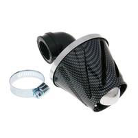 Vzduchový filtr Helix power 28-35mm  90 ° karbon