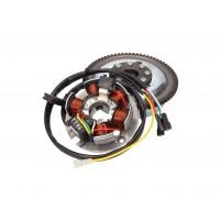 Stator a rotor OEM pro Minarelli AM3, AM4, AM5, AM6 el.startér