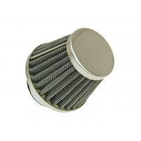 Vzduchový filtr průměr 32/35/38/42/50/60mm chrom - vyberte z nabídky: