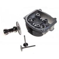 Hlava GY6 150 ccm 57,4 mm s vačkou a ventily