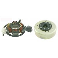Zapalování komplet, rotor + stator Peugeot 2t 50cc 768349