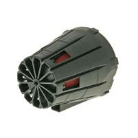 Vzduchový filtr boxed racing 28-35mm 45° (incl. adapter) červeno černý