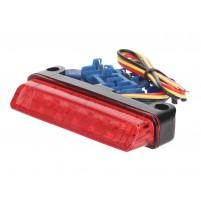 Zadní LED světlo - červené 78x16mm univerzální