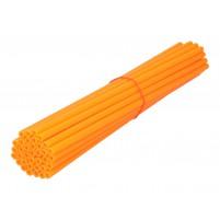 Ozdobný návlek drátu kola 250mm oranžový 36 kusů