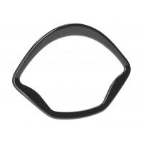 Černý rámeček tachometru OEM pro Vespa GT, GTS, GTV