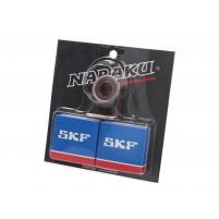 Sada ložisek klikového hřídele Naraku SKF C4 pro Minarelli AM