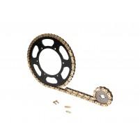 Řetězová sada 12/47 zubů pro Aprilia RS 50 99-02 (AM6) ZD4TE / ZD4PG / ZD4SE / ZD4TS