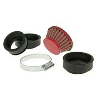 Vzduchový filtr průměr 44-58mm červený