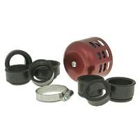 Vzduchový filtr průměr 28-44mm červený