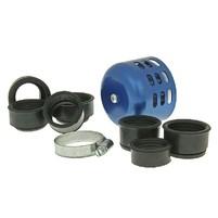Vzduchový filtr průměr 28-44mm modrý