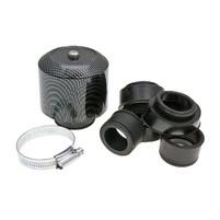 Vzduchový filtr průměr 28-44mm karbonový vzhled