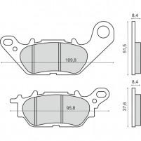 Brzdové destičky zadní Yamaha N-Max 125/150