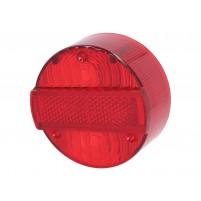 Sklíčko zadního světla pro Simson Schwalbe KR51/2, S50, S51, S53, S70, S83, SR50, SR80, MZ ETZ 125, 150, 250