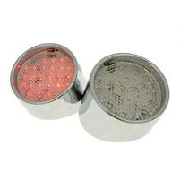 Zadní světlo set LED chrome - 2 pcs pro Aprilia SR50