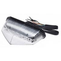 Zadní LED světlo s blinkry 5 drátů (12V 2 / 0,4 W)