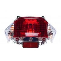 Světlo zadní - čiré blinkry pro Kymco Filly, Baotian BT49QT-9