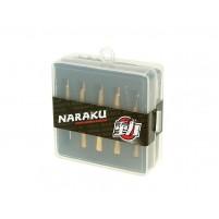Sada trysek pro karburátor Naraku - PWK - 110-128