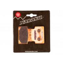 Brzdové destičky  Naraku sintrované pro Aprilia Scarabeo 100