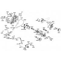 Kolečko převodovky Kymco Maxxer,MXU 250-300ccm