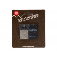 Brzdové destičky Naraku organické pro Malaguti F12 Phantom, Crosser, Simson S 53, S 83