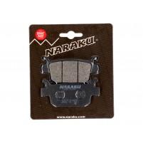 Brzdové destičky Naraku organické pro Honda SH, FES, NES, Forza, Jazz