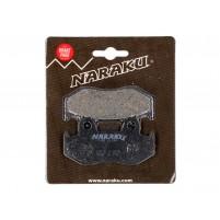 Brzdové destičky Naraku organické pro Honda NES SES PES/PS SH CH 125/150 4T