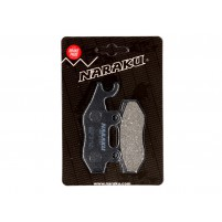 Brzdové destičky Naraku organické pro Kymco, Yamaha, Hyosung