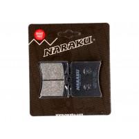 Brzdové destičky Naraku organické pro Aprilia, Baotian, Derbi, Malaguti