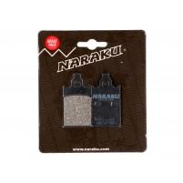 Brzdové destičky Naraku organické pro Aprilia, Malaguti, Piaggio, Simson