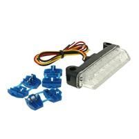 Zadní světlo LED clear 78x16mm E-marked universal