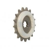 Řetězové kolečko s gumou 17 zubů pro Puch Maxi